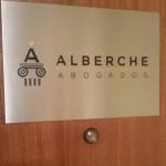 Placa Alberche Abogados