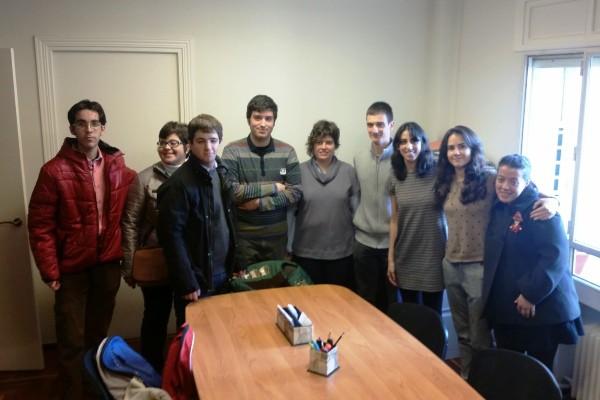 Visita de los alumnos de campvs a alberche abogados - Fundacion carmen pardo valcarce ...