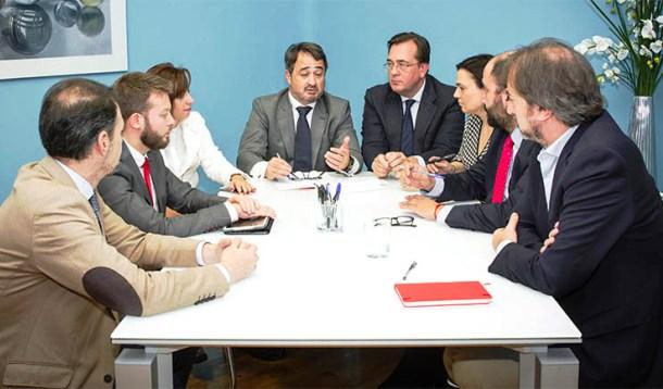 Carlos J. Galán, en la comisión de turno de oficio de Javier Íscar