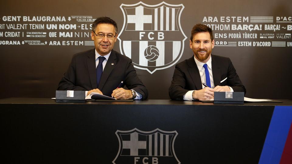 """La """"cláusula Messi"""", vista desde el Derecho"""