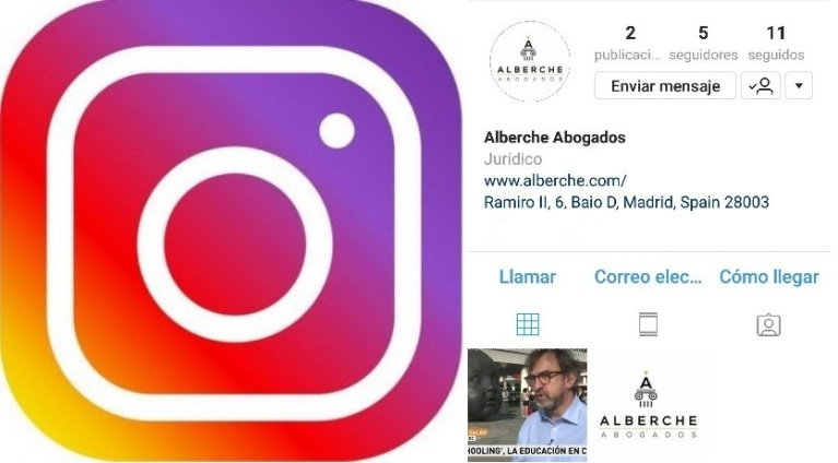 Alberche Abogados en Instagram