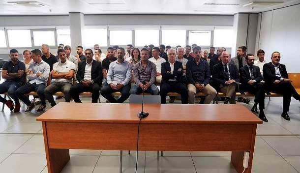 Intervención en el juicio sobre presuntos amaños en fútbol